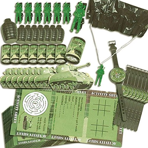 Camouflage Favors Value Pack, 48pc