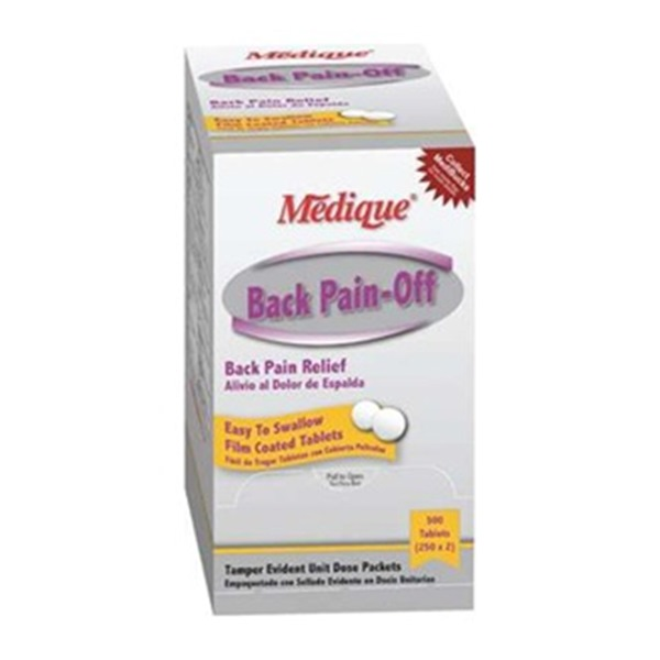 Back Pain-Off, Tablets, PK100