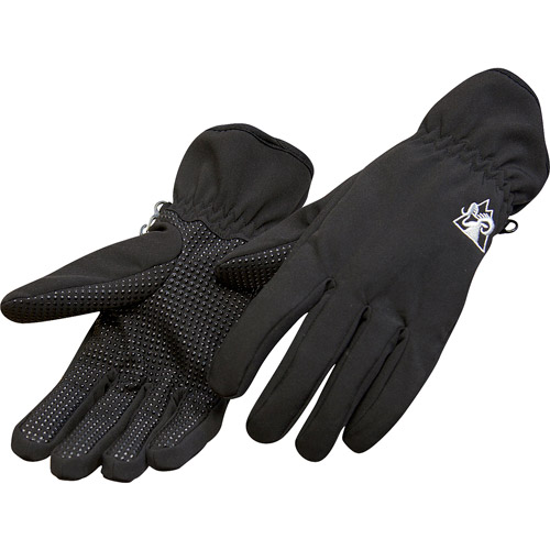 Rocky Women's Soft Shell Gloves, Black