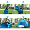 Instant Automatic pop up Camping Tent for 1-2 Persons Portable Waterproof UVA Protection Perfect for Beach Outdoor Traveling Hiking Camping Hunting Fishing