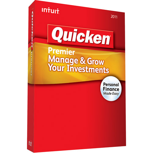 Quicken Premier Manage & Grow Your Investments 2011