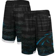 Carolina Panthers New Era Training Daze Shorts - Black