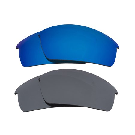SEEK Lenses Compatible with Oakley O Rokr Pro Blue Mirror & Silver Mirror
