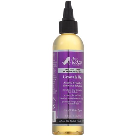 The Mane Choice Multi-Vitamin Scalp Nourishing Growth Oil 4 fl. oz. Bottle