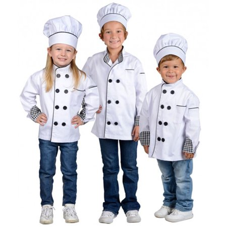 Jr. Chef Jacket with Hat (Cheif Hat)