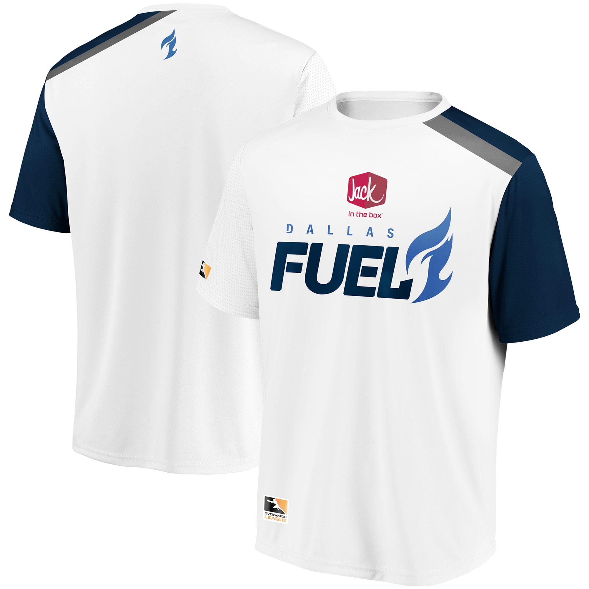 Dallas Fuel Overwatch League Replica Away Jersey - White