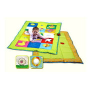 Double Sided Textured Baby Play Mat with Squeaker