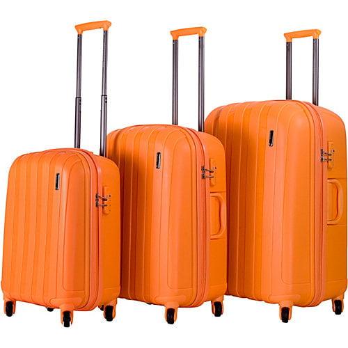 CalPak Paradise 3 Piece Extra Lightweight Hardside Luggage Set