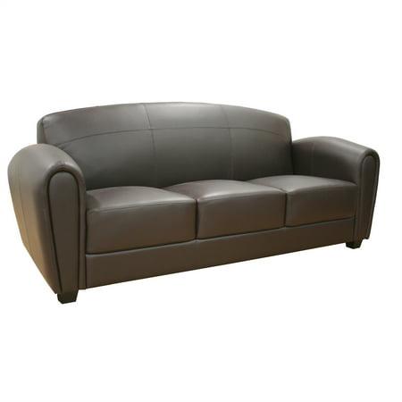 Wholesale Interiors Baxton Studio Sally Leather Sofa