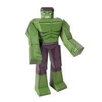 Hulk 12-Inch Marvel Blueprints Papercraft ( Number of Pieces per case: 9)