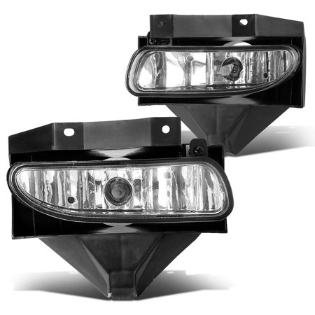 For 1999 to 2004 Ford Mustang New Edge Pair of Bumper Driving Fog Lights (Clear Lens) 00 01 02 - Ford Mustang Driving Fog Lights