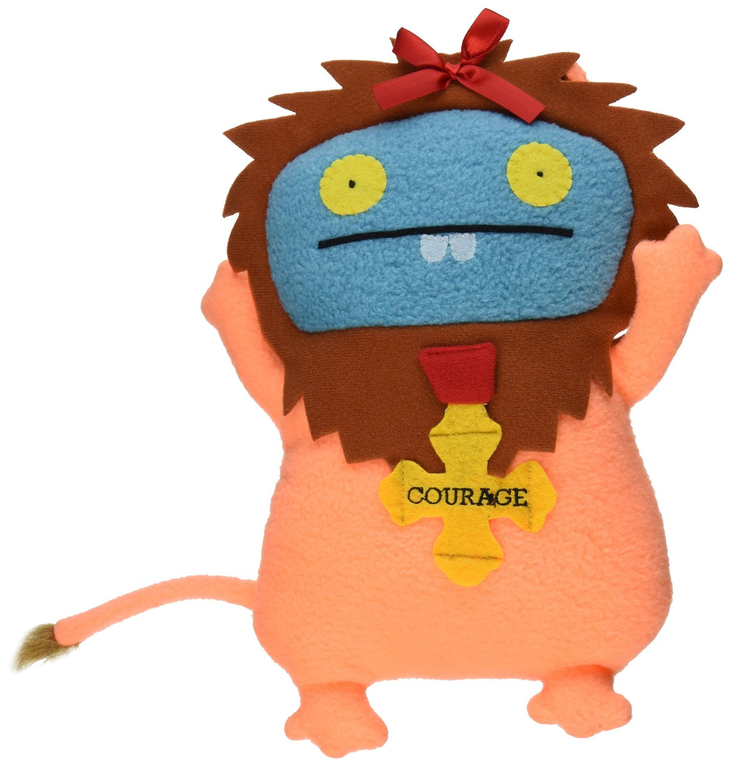 "Ugly Dolls Wizard of Oz 13"" Plush: Babo as Coward Lion"