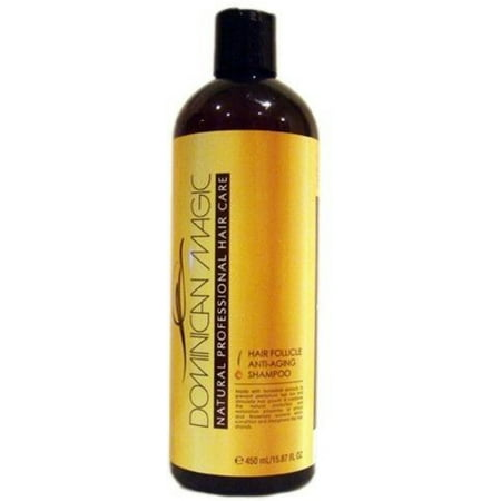 Dominican Magic Hair Follicle Anti-Aging Shampoo, 15.87 oz (Pack of 3)