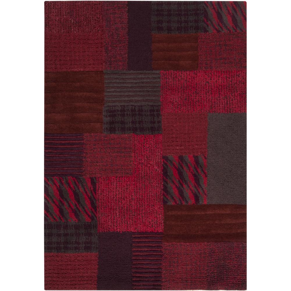 Surya Carpet, Inc Hand-tufted Orem Plaid Wool Rug