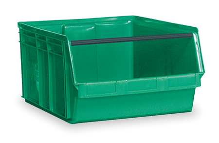 Quantum Storage Systems 150 lb Capacity, Bin, Green QMS743GN by Quantum Storage Systems