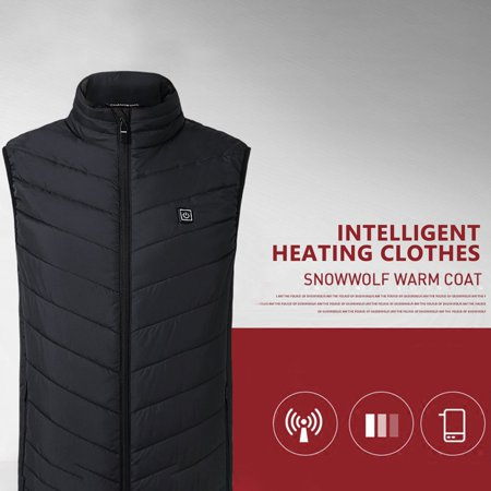 VENSE Smart Charging Heating Vest Graphene Carbon Fiber Heating Vest Jacket - image 6 of 9