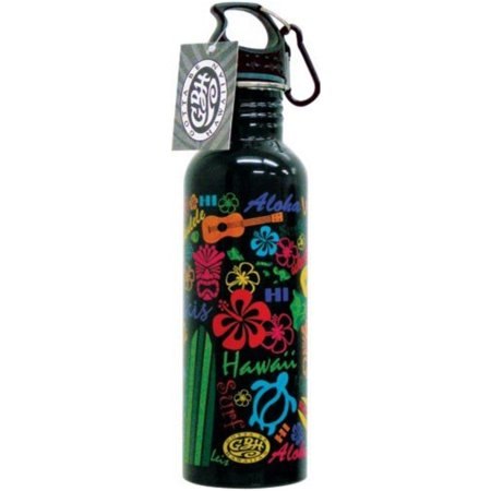 Hawaiian Water Bottle Words Of