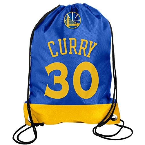 NBA Golden State Warriors Curry S. #30 2013 Drawstring Backpack, Blue, One Size