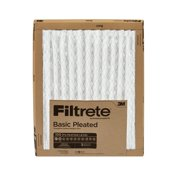 Filtrete Basic Pleated HVAC Furnace Air Filter, 100 MPR, 14 x 20 in, 1 Filter