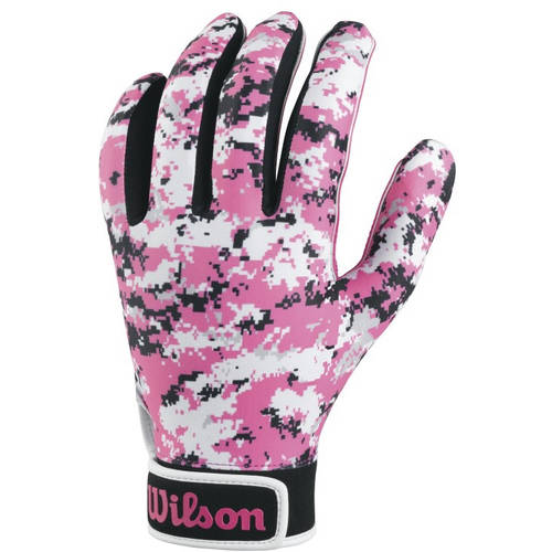 Wilson NFL Special Forces Camo Football Receivers Glove, Adult