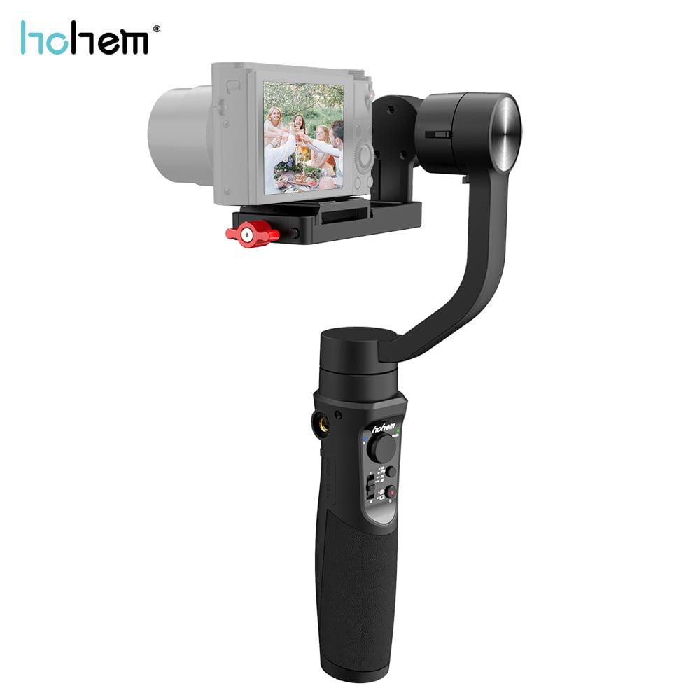 Qiilu Storage Bag,H4 3 Handheld Anti-Shake Mobile Phone Gimbal Stabilizer for Cellphone Action Camera