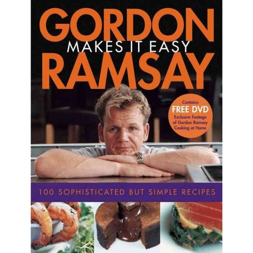 Gordon Ramsay Makes It Easy by Gordon Ramsay (2005) Paperback w/DVD