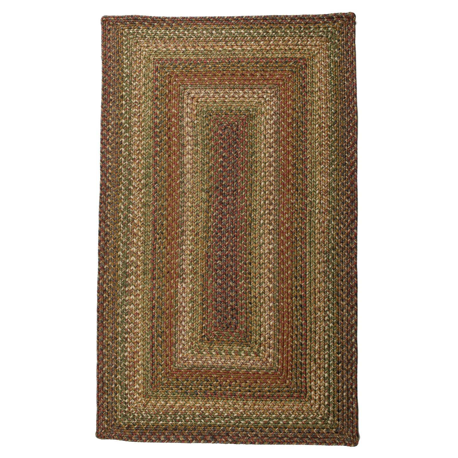 Homespice Decor Ultra Durable Rainforest Braided Rug