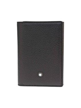 Brand New Montblanc Mens Meisterstuck Soft Grain Trifold MB-113011