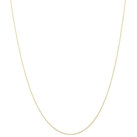 Gold Mens Robe - ICE CARATS 10kt Yellow Gold .5 Mm Carded Cable Link Rope Chain Necklace 24 Inch Pendant Charm Fine Jewelry Ideal Gifts For Women Gift Set From Heart