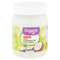 Great Value Organic Unrefined Virgin Coconut Oil, 14 fl oz