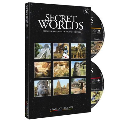 Secret Worlds - 6-DVD Set ( Mystery of the Anasazi / Mystery of the Copper / The Lost City of Angkor Wat / Easter Island: Mystery of the Rapa Nui / [ NON-USA FORMAT, PAL, Reg.0 Import - Netherlands ] - Dragon City Halloween Island