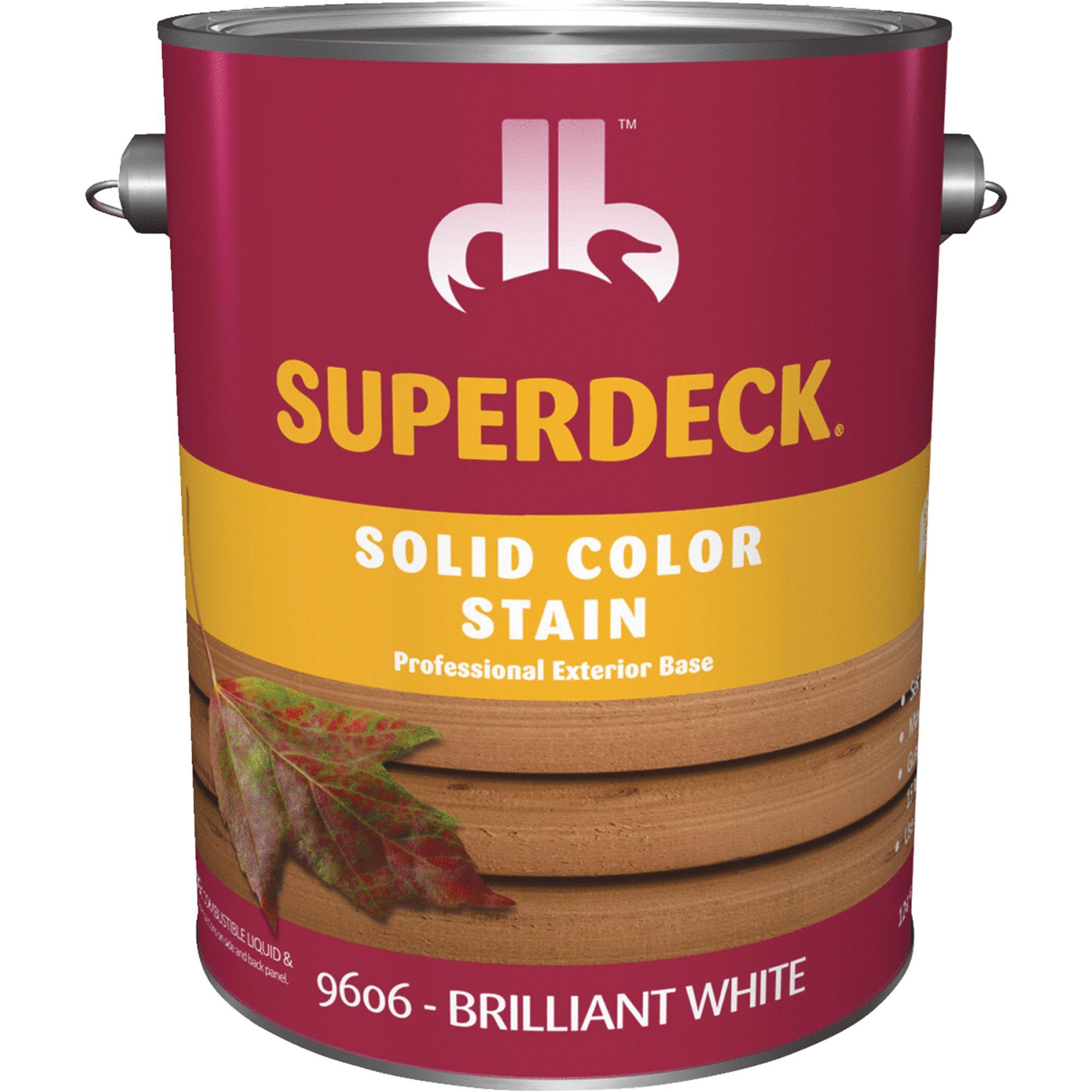 Duckback SUPERDECK Self Priming Solid Color Stain