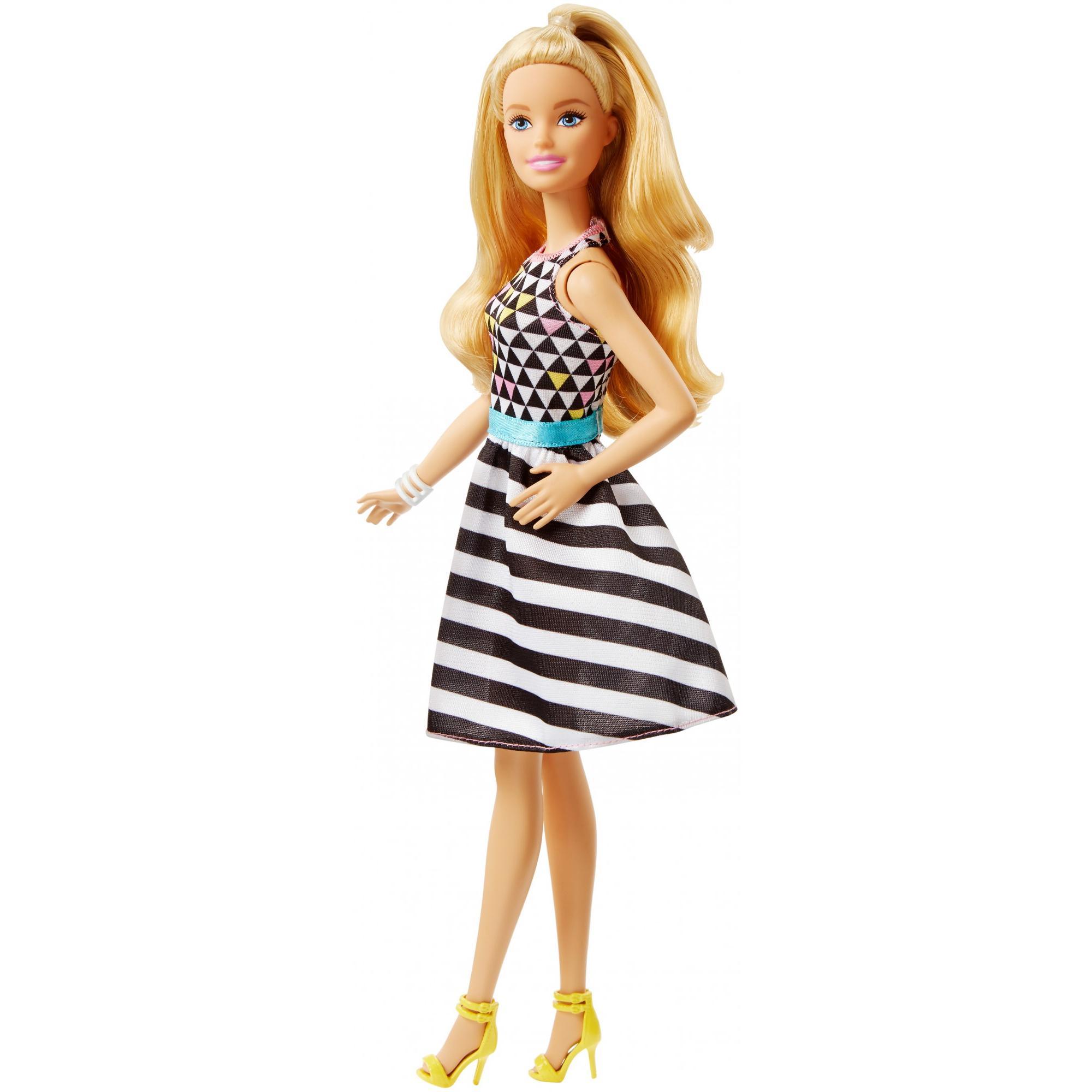 Barbie Fashionistas Power Print, Original Body Doll