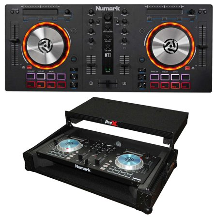 Numark Mixtrack 3 All-in-one DJ Controller 4 Virtual DJ Mixtrack III+Flight Case