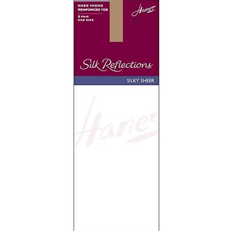 e765aff1b Hanes - Hanes Silk Reflections Knee Highs