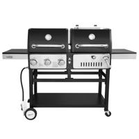 Royal Gourmet ZH3003 Liquid Propane 3-Burner 27000-BTU Gas and Charcoal Grill Combo