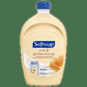 (2 pack) Softsoap Liquid Hand Soap Refill, Milk & Golden Honey, 50 Oz