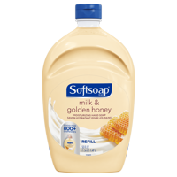 Softsoap Liquid Hand Soap Refill, Milk & Golden Honey, 50 oz