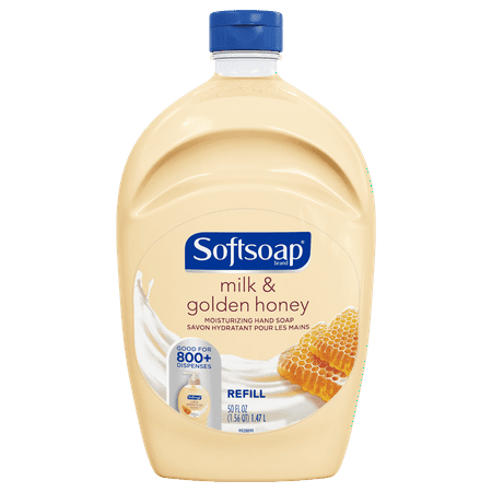 (2 pack) Softsoap Liquid Hand Soap Refill, Milk & Golden Honey, 50 (Bath Body Hand Soap)