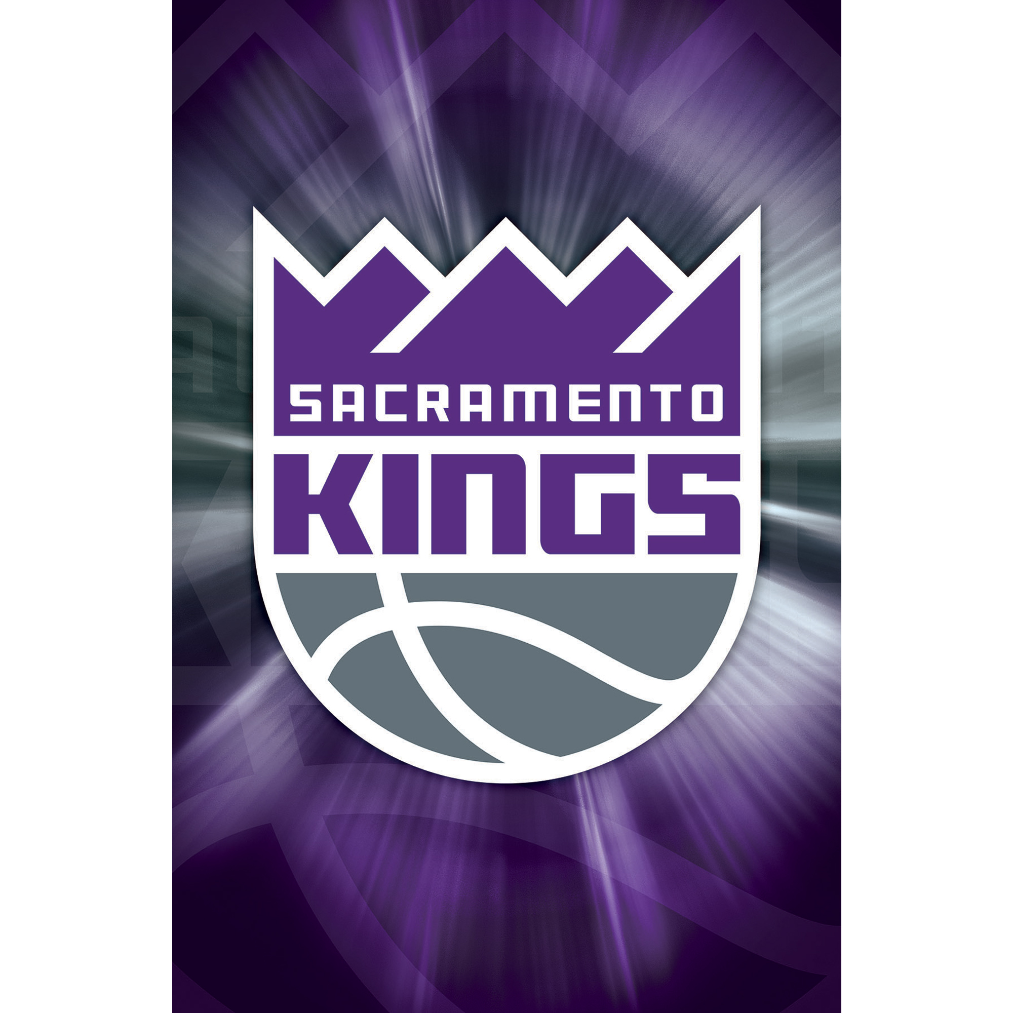 Sacramento Kings 22'' x 34'' Logo Team Poster - No Size