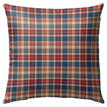 Kavka Designs Fall Plaid Outdoor Pillow ()