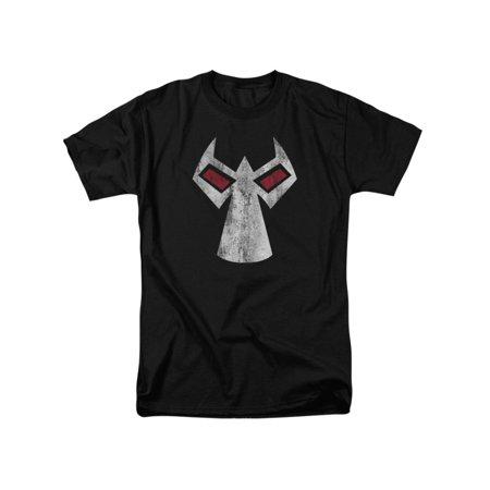 Batman DC Comics Bane Mask Adult T-Shirt Tee (Bane 90s Batman)
