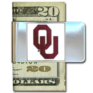 Oklahoma Steel Money Clip (F)