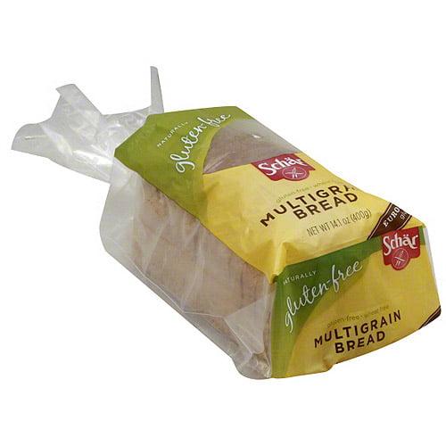 Schar Gluten & Wheat Free Multigrain Bread, 14.1 oz (Pack of 6)