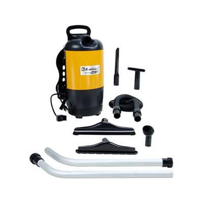 "Koblenz BP-1400 Backpack Vacuum Cleaner - 1.40 kW Motor - 1.50 gal - Bagged - 50 ft Cable Length - 60"" Hose Length - 897.7 gal/min - 11.50 A - 71 dB(A) Noise Level"