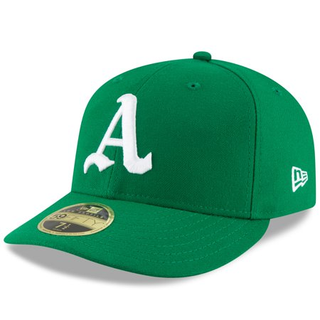 - Oakland Athletics New Era Turn Back the Clock Low Profile 59FIFTY Fitted Hat - Green