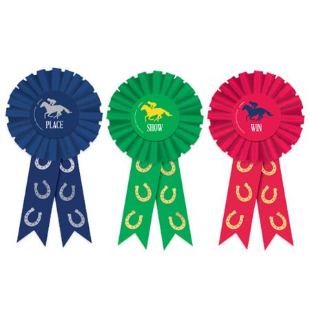 Kentucky Derby Award Ribbon Set