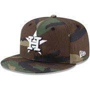 Houston Astros New Era Basic 9FIFTY Snapback Hat - Camo - OSFA