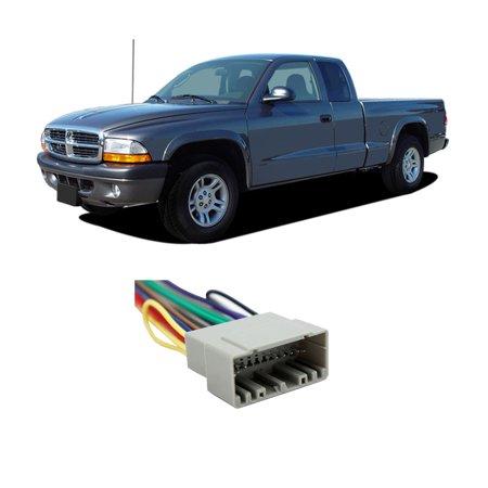 Dodge Dakota 2002-2004 Factory Stereo to Aftermarket Radio Harness Adapter Dodge Dakota Radio Wiring
