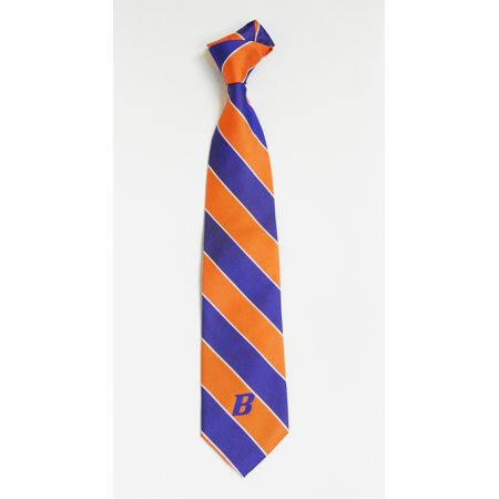 Boise State Broncos Stripe with Varsity B Necktie - D & B Supply Boise